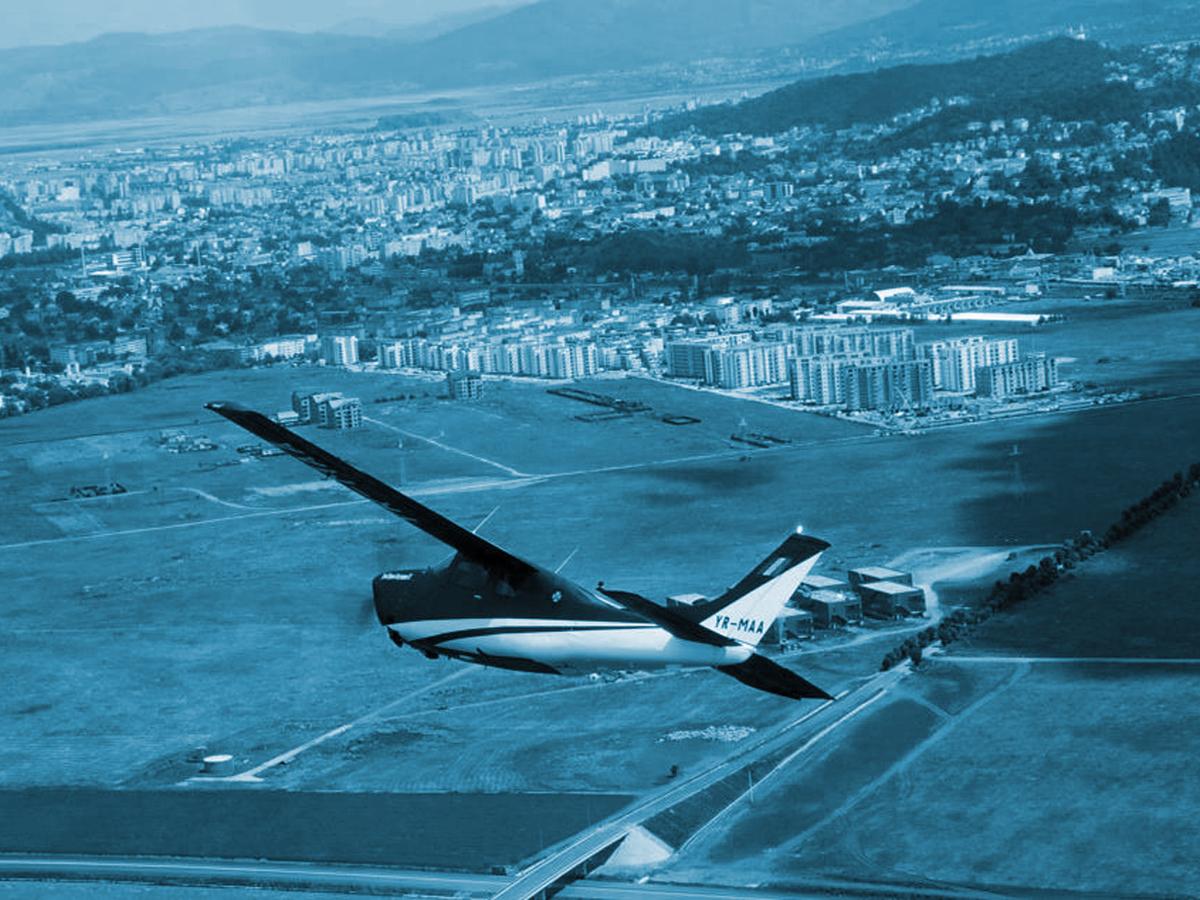 zbor cu avionul brasov